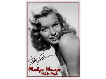 Marilyn Monroe poster i A-3 format
