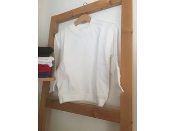 Sweatshirt/Collage - White-vit,  storlek 130/140