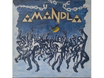 Amandla title* First Tour Live* African, Folk, Political LP SWE
