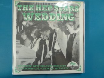 The Hep Stars / WEDDING / Beg singel i fint skick