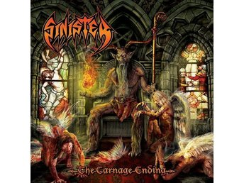 Sinister -The carnage ending LP death metal with gatefold co