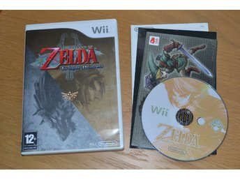 The Legend of Zelda Twilight Princess Wii Nintendo Komplett Fint Skick