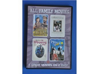 All Family Movies (4 Great Movies on 2 DVDs),.