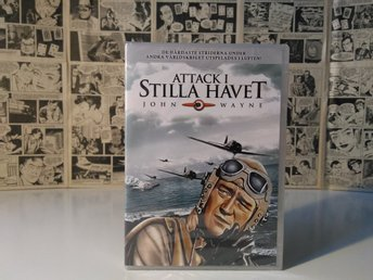 Attack i Stilla Havet (Flying Leathernecks) DVD John Wayne 1951, ny & inplastad!
