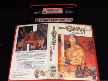 Conan - the Destroyer / ex rent / UK / kult / Schwarzenegger