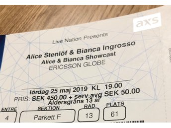 Alice och Bianca showcast