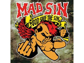 Mad Sin - God Save The Sin (ltd. colored yellow) - LP NY - FRI FRAKT