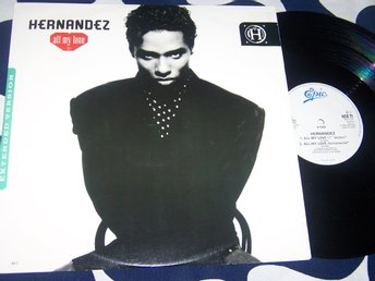 "HERNANDEZ - ALL MY LOVE 12"" 1989 UK"