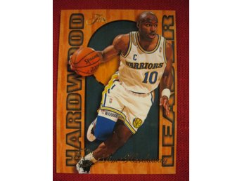 TIM HARDAWAY -  HARDWOOD LEADER - FLAIR 1995-96  - BASKET