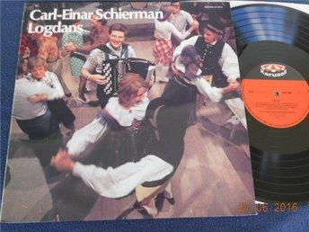 CARL EINAR SCHIERMAN - Logdans, LP Karusell 1975 - Bara Thore Skogman låtar! - Gävle - CARL EINAR SCHIERMAN - Logdans, LP Karusell 1975 - Bara Thore Skogman låtar! - Gävle