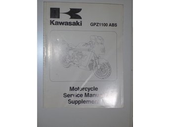 Verkstadshandbok Kawasaki supplement GPZ1100 ABS
