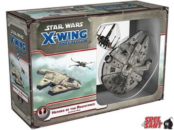 Star Wars X-Wing Miniatures Game Heroes of the Resistance Expansion