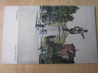 Karl XII Staty skrivet plundrat (H9) - Stockholm - Karl XII Staty skrivet plundrat (H9) - Stockholm