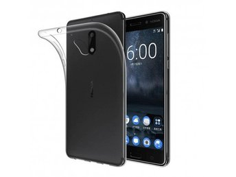 Nokia 5 silikon skal transparent Färg: Transparent