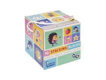 Petit Monkey 10 staplings block
