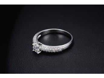 Ring 925 sterling silver och cubik zirconia stl 17 mm - Göteborg - Ring 925 sterling silver och cubik zirconia stl 17 mm - Göteborg
