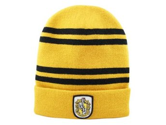 Harry Potter Mössa Hufflepuff Double Stripes