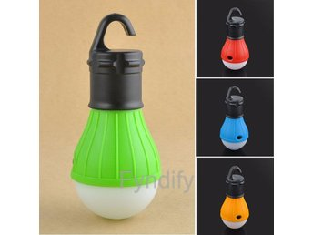 Hanging LED Camping Tent Light Bulb Gul