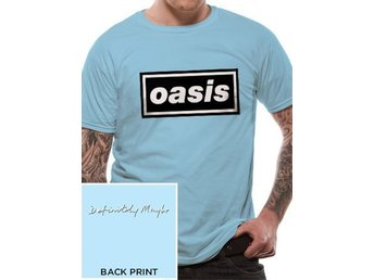 OASIS - DEFINITELY MAYBE (UNISEX)   T-Shirt - Large