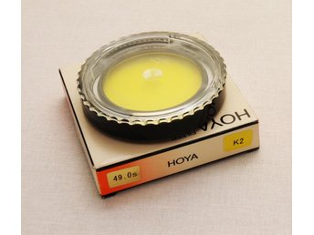 Nytt Hoya Gulfilter 49 mm K2