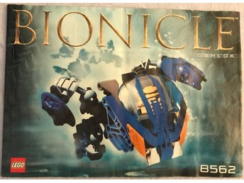 LEGO Bionicle 8562 (Ghalok) - Manual