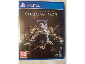 Shadow of war PS4 nyskick