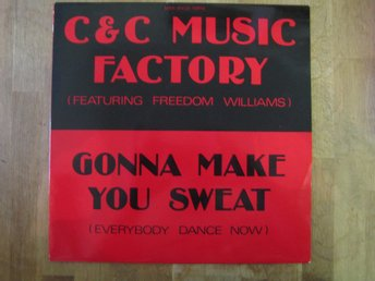 C & C Music Factory- Gonna Make You Sweat (Maxisingel) Toppskick!