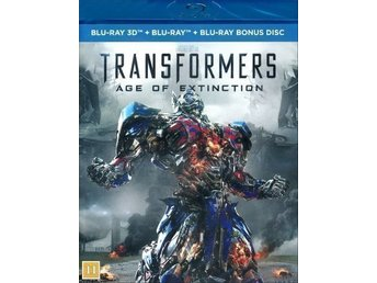 Transformers 4 - Age of extinction (Blu-ray 3D + Blu-ray) (2-disc) i NYSKICK