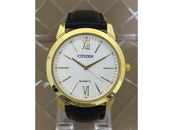Retro Citizen Slim, Quartz, Stor urtavla 42 mm