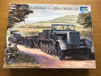 TRUMPETER German Halftrack Sd.Kfz.9 Tanktransporter  1/72