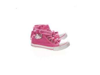 Hello Kitty, Skor, Strl: 24, Rosa/Vit