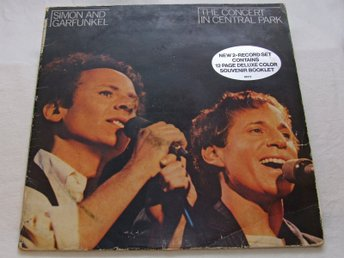 Simon & Garfunkel - The Concert In Central Park - Dubbel vinyl-LP från 1982