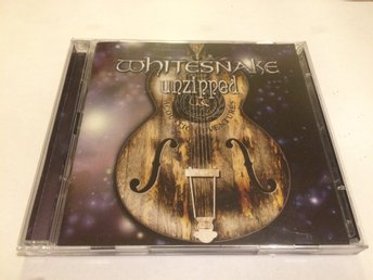 WHITESNAKE Unzipped 2-CD 2018 Import Deep Purple Vandenberg Dead Daisies Winger
