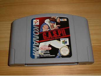N64: G.A.S.P!! Fighters NEXTream