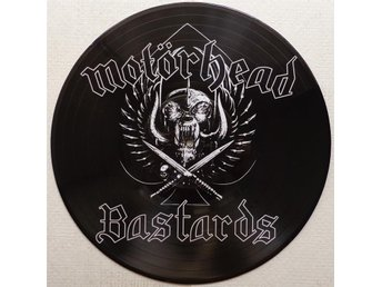 MOTORHEAD 'Bastards' picture-disc vinyl LP