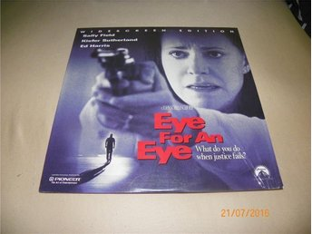 Eye for an eye - Widescreen edition - 1st Laserdisc