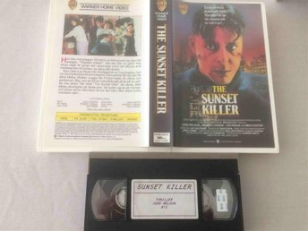 The Sunset Killer - Relentless (1989) - Warner Home
