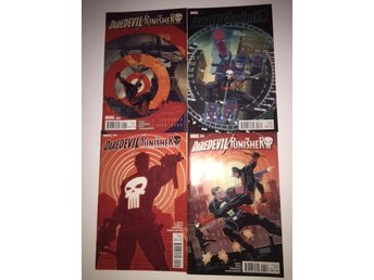 Daredevil Punisher 1-4 Complete (2015) 99sek!!!
