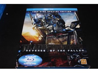 Bluray-film: Transformers - Revenge of the fallen (2 disc)
