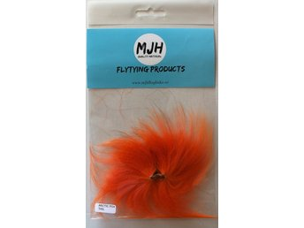 Flugfiske Flugbindning Arctic Fox Tail Orange