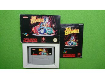 The Brainies KOMPLETT Super Nintendo Snes