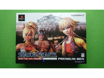 Shadow Hearts From The New World Premium NYTT JAPANSKT  NTSC-J PS2 Playstation 2
