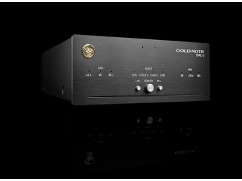 Gold Note DAC7 och GoldNote PSU-9