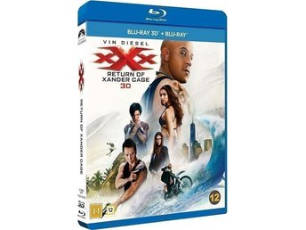 xXx - The Return Of Xander Cage (3D Blu-Ray)