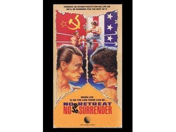 No Retreat No Surrender VHS Region 1