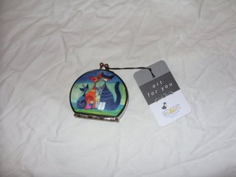 Rosina Wachtmeister Pocket Mirror & Fick Spegel motiv Katter Germany Fridolin