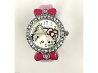 Hello Kitty Girl Flickor Armbandsur Watch - Från EU-lager ljusrosa