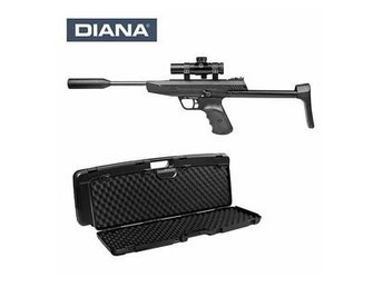 Luftpistol/gevär Diana LP8 Magnum Tactical Set
