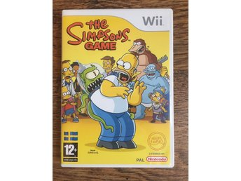 The Simpsons Game Nintendo Wii