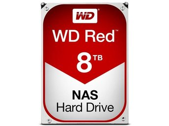 "WD RED Nas HDD 3,5"" 8TB, 256MB, 5400RPM"